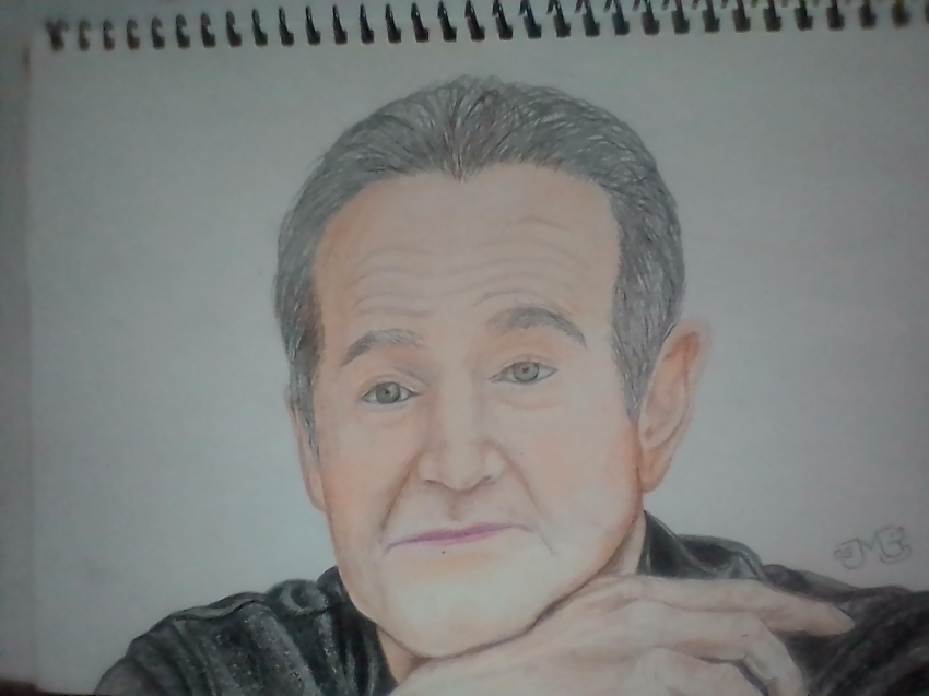 Robin Williams by miguelg